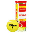 ウイルソン 硬式テニスボール チャンピオンシップ・エキストラ・デューティ wrt100101 3球入