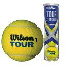 ウイルソン 硬式テニスボール ツアー・スタンダード(TOUR STANDARD) wrt103800 4球入1缶ボール テニスボール 球