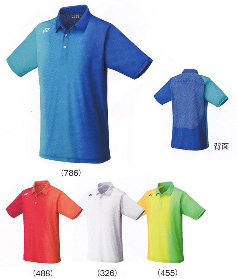 ヨネックスMENポロシャツ12129バドミントンテニスシャツ半袖メンズ男性用YONEX2016年モデ