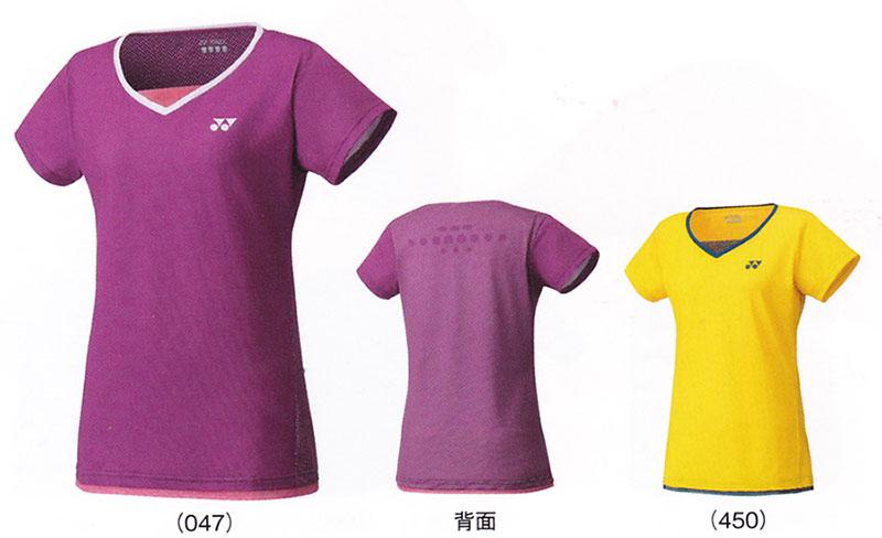 【在庫品】 ヨネックスWOMEN シャツ(スリムロングフィットタイプ)20285 バドミントン テニス シャツ 半袖レディース ウィメンズ 女性用YONEX 2016年モデル ゆうパケット対応