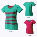 【在庫品】 ヨネックスJUNIOR GIRLS' シャツ20341Jバドミントン テニス ウエア ゲームシャツジュニア ガールズ 女子YONEX 2017年春夏モデル ゆうパケット(メール便)対応