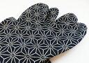 いろは(紺) 4枚コハゼ 柄足袋 和柄 日本製 手づくり