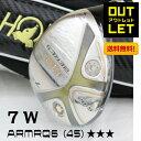 本間ゴルフ ベレスS-02 7W(21°) 3Sグレード ARMRQ6(45)シャフト BERESフェアウェイウッド [HONMA][ホンマ]店頭展示品処分 アウトレットセール