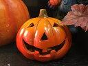 ハロウィン かぼちゃ パンプキン オーナメント ガーデニング ガーデン 置物 インテリア雑貨 グッズ ディスプレイ【パンプキン】