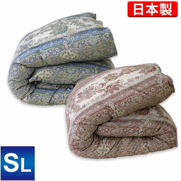 羽毛布団(ユーラシア産ホワイトダックダウン50%)シングルロング