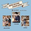 JYJ ブランケット 2016 HAPPY HOLIDAY SEASON GOODS 公式 ジェジュン ユチョン ジュンス jyj 公式グッズ