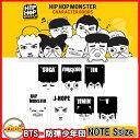 BTS HIPHOP MONSTER キャラクター Note (S) BTS -防弾少年団 バンタン bts 公式グッズ