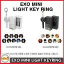 送料無料!EXO MINI LIGHT KEY RING メンバー別選択 公式グッズ exo ライトキーリング