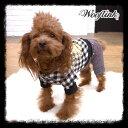 SALEセール【Wooflinkウーフリンク】ビンテージシャツ セレブ愛用 犬服 ウエア ペット セレブ犬 ボイッシュ