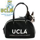 楽天Prankish【SALE対象商品】UCLA キャリーバッグ 犬 犬用キャリーバッグ カレッジ マディソンバッグ DOG ドッグ/UCLA DOG CARRY MADISON BAG(BLACK)