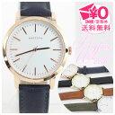 腕時計 ビッグフェイス シンプル ダークカラー =メール便送料無料 qks136 時計 ウォッチ f