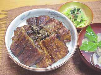 ★ (s006) Tosa great set! ◆ set of skipjack tuna and unagi Kabayaki ★ lip-smacking delicious set is! (◆ COD fee +210 Yen required)