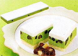 ★【業務用】【フリーカットケーキ】(U)レア抹茶500g/1枚★