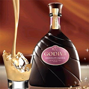 ★ GODIVA chocolatier Godiva chocolate liqueur (375 ml) ★ cool limited flights and minor shopping cannot be