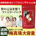 ★抗インフルエンザウイルス剤特許取得★予防・対策に!梅肉エキス 粒 大容量 梅真珠 フ