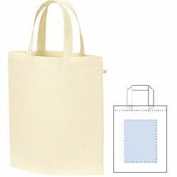 【ノベルティ】【オリジナル印刷】A4 コットンバッグ ナチュラル 900枚(誕生日 記念日 プレゼント お祝い 布 袋 名入れ 配布 イベント)