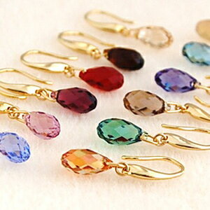 Available in 38 colors ♪ Swarovski earrings 10P13oct13_b