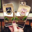 iPhone7ケース 鏡仕上げ 鏡面 ミラー リング付き アイホン7 アイフォン7 ケース カバー バンカーリング アイホン7 iPhone7ケース アイフォン6 アイフォン7プラス 落下防止 リングスタンド カップル05P28Sep16