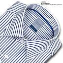LORDSON 長袖 ワイシャツ メンズ 綿100% 形態安定加工 吸水素材 標準体 ロンドンストラ...
