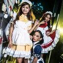 ハロウィン コスプレ 東京エンジェルメイド コスプレ メイド 衣装 アリス 大人用 ロリータ M〜4Lサイズあり 10色展開 4点セット こすぷれ はろういん costume452 衣装