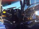 HINO グランドプロフィア シート横インナーグリップ 左右セット★高級クロームメッキ仕様★