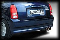 ミラ L700 リアスタイリッシュバンパー エアロオーバー