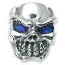 TRAVIS WALKER/DOUBLE CROSS(トラヴィスワーカー/ダブルクロス):Stone Custom/Chomps Skull Ring(ストーンカスタム/Chompsスカルリング)