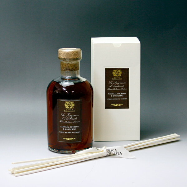 Antica pharmacist (ANTICA FARMACISTA) vanilla and Bourbon & Mandarin 500 ml
