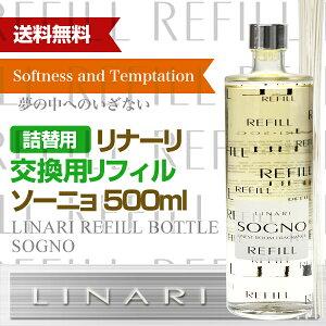 【交換用リフィル】リナーリ(LINARI)リードディフューザーソーニョ(SOGNO)
