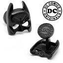 ショッピングマスク 子供 ◎アクセサリー カフス カフリンクス カフスボタン Various Licensed Satin Black Classic Batman Mask Cufflinks バットマンマスク