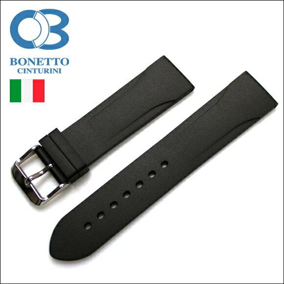 ◆BC ボネット・シンチュリーニ◆「315」ラバー素材 ストラップ 腕時計用・時計ベルト・時計バンド 22mm【あす楽対応】【送料無料】【メンズ】【クロノワールド】