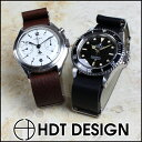 大人気NATOタイプ時計ベルトのレザーバージョン!オメガからタイメックスまで様々な時計に対応!