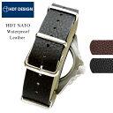 時計 ベルト 腕時計 バンド HDT NATO レザー 耐水...