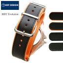 時計 腕時計 ベルト バンド HDT Evolution エボリューション ラバー ナイロン20mm ...