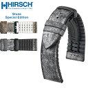 時計 ベルト 腕時計 バンド★HIRSCH Performance Collection Stone Special Edition ヒルシュ パフォーマンスコレクション ストーン スペシャルエディション