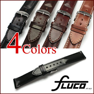 FLUCO Horween Shell Cordovan Leather Watch Strap