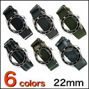 ◆A clock belt, clock band [tomorrow easy correspondence] for oversize 22mm watches made in the NATO forces G10 regular strap ◆ U.K. [free shipping] [men] [nylon] [the military]