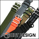 ◆Clock belt, clock band 20mm22mm24mm [tomorrow easy correspondence] for 2 HDT ZULU ズールバリスティック nylon band standard ring watches [free shipping] [men] [the military]