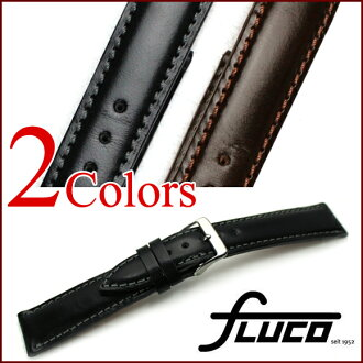◆ フルーコ FLUCO ◆ London Bridle Leather London bridle & leather watch, belt watch, watch band 18 mm 20 mm22mm