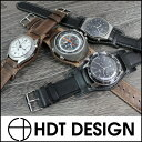 ◆Clock belt, clock band 18mm20mm22mm [tomorrow easy correspondence] for HDT BUND ブンドレザー waterproofing watches [free shipping] [men] [leather]