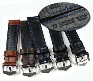◆HIRSCHGrandDukeヒルシュグランド・デューク100M耐水腕時計用・時計ベルト・時計バンド18mm20mm22mm24mm【あす楽対応】【送料無料】【メンズ】【革・レザー】