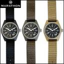 時計 腕時計 ミリタリーウォッチ アメリカ軍 MARATHON General Purpose Field Watch Date マラソン ジェネラルパーパス フィールドウォッチ デイト クォーツ WW194015 ファイバーグラス