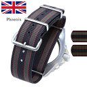バネ棒付き 時計 ベルト 腕時計 イギリス Phoenix ...
