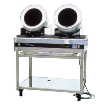 ロータリーシェフ RC-2型 (ガス種:プロパン) LP【代引き不可】【ガス 回転炒め機】【ガス 回転炒め機】【クマノ厨房】【業務用】
