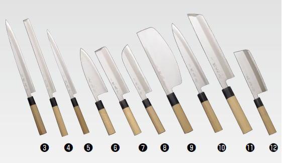 堺菊守 和包丁 特製 骨切 360mm【き】 【業務用包丁 業務用ナイフ 和包丁】