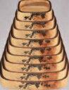 角D.X桶 花梨ブドウ 9寸【寿司桶】【すし桶】【寿司皿】【すし】【寿し】【鮨】【スシ】【1-480-39】