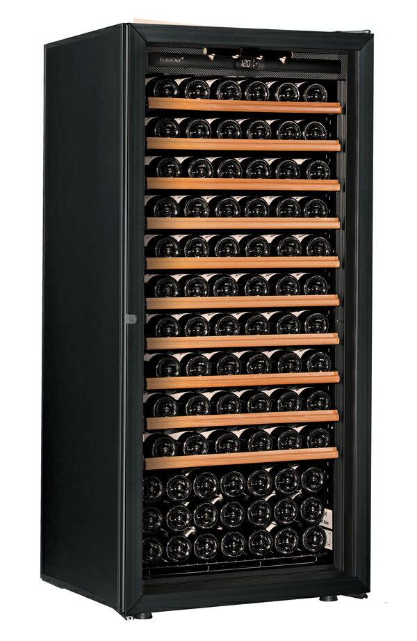 【送料無料】新品!ユーロカーブ(EUROCAVE) ワインセラー (355L・140本) Premiere-M-C-PTHF(黒)