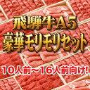 【飛騨牛A5豪華モリモリセット】10人前〜16人前向け!