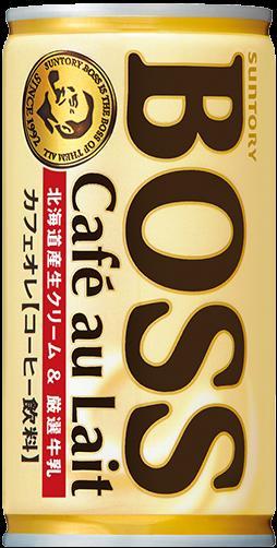 訳アリ 缶難 BOSS ボスカフェオレ 185g缶 4901777235434 ソフトドリンク コーヒー 飲料 北海道産生クリーム&厳選牛乳 癒される 大人のオレ