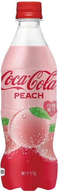 コカ・コーラピーチ ペットボトル 500ml 4902102133555